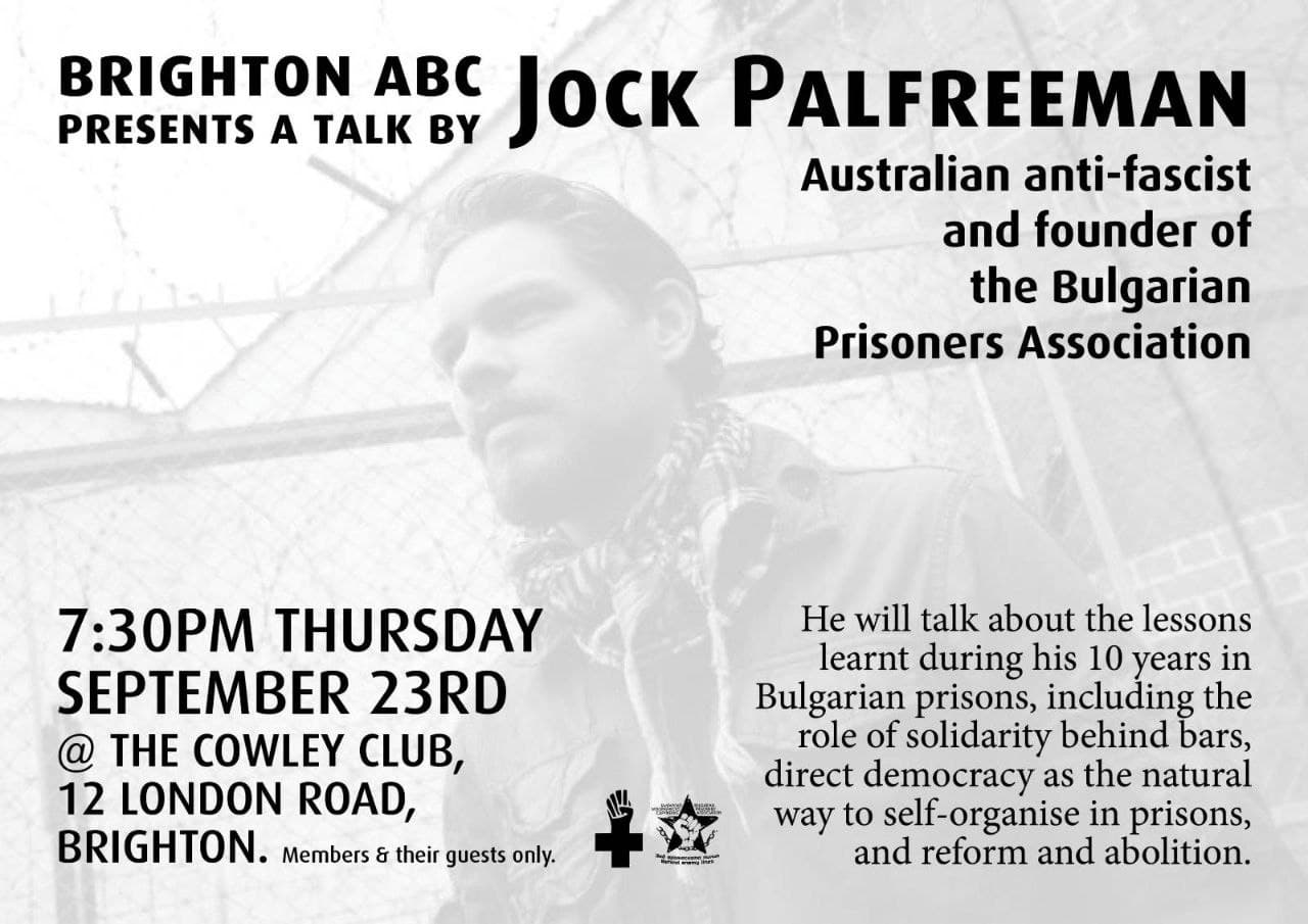 Talk with Jock Palfreeman
